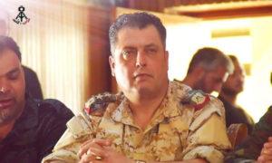 رئيس فرع المخابرات الجوية في درعا سليمان محمود حمود - (فيس بوك)