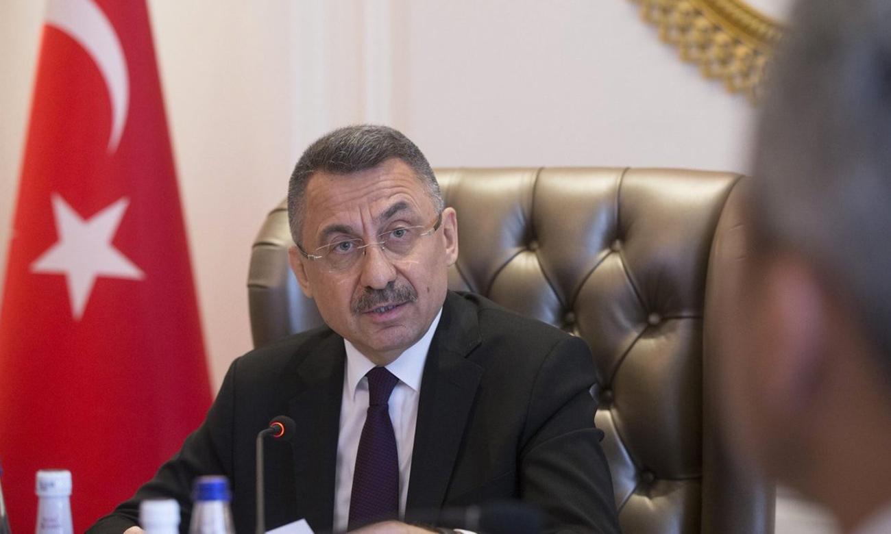 نائب الرئيس التركي فؤاد أوقطاي (الأناضول)