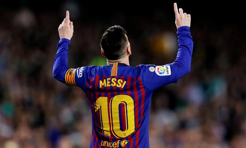 مهاجم نادي برشلونة، الأرجنتيني ليونيل ميسي (رويترز)