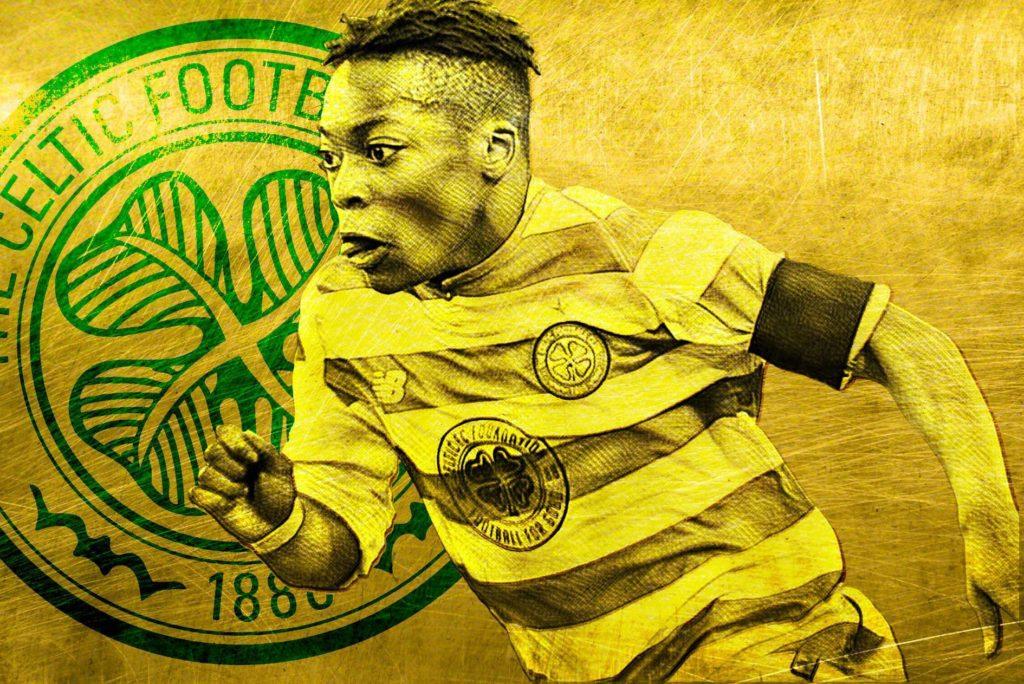 كرامكو ديمبلي لاعب نادي سيلتيك الأسكتلندي (ليكيب)