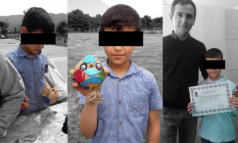 الطفل السوري (و، س) الذي قيل إنه انتحر في ولاية كوجالي التركية (المصدر: والد الطفل)