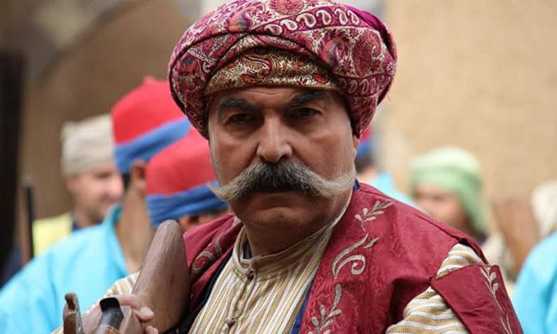 الممثل الراحل عامر سبيعي 11 مانون الثاني 2016 (صفحة عامر سبيعي على فيس بوك)