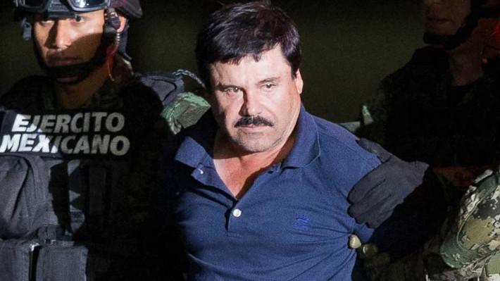 """اعتقال تاجر المخدرات المكسيكي المعروف """"إل تشابو"""" (GETTY)"""