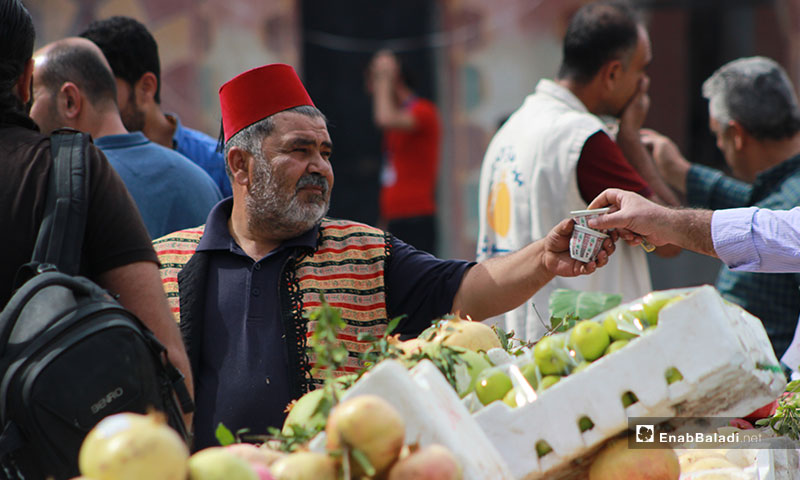 مهرجان الرمان السنوي الثاني في مدينة دركوش بإدلب - 10 من تشرين الأول 2019 (عنب بلدي)