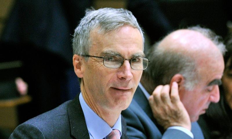 وزير الخارجية البريطاني لشؤون الشرق الأوسط وشمال إفريقيا، أندرو موريسون (AFP)