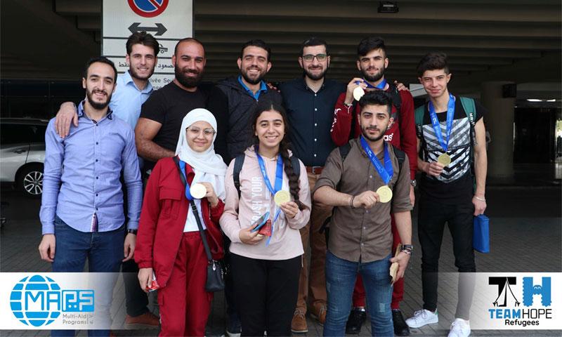 فريق أمل سوريا ينال الميدالية الذهبية في أولمبياد الروبوتات - 28 تشرين الأول 2019 (MAPS)