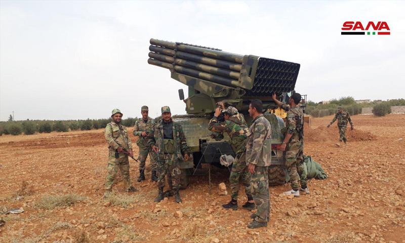 انتشار قوات الأسد في محيط منبج - (سانا)