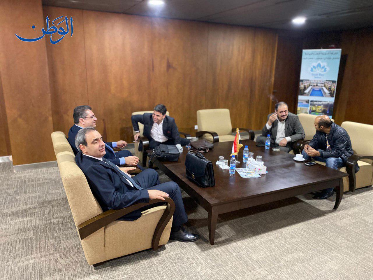 وفد النظام السوري المشارك في اللجنة الدستورية- 28 من تشرين الأول 2019 (الوطن)
