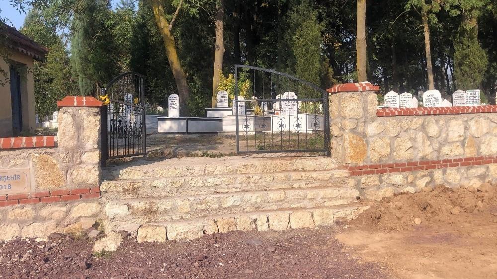 المقبرة التي يقال إن الطفل السوري انتحر على بابها (يني شفق)