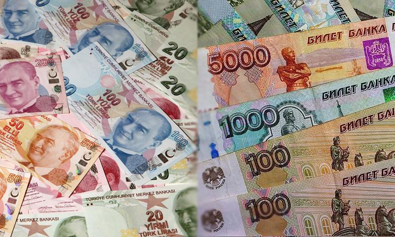 الليرة التركية والروبل الروسي (تعديل عنب بلدي)