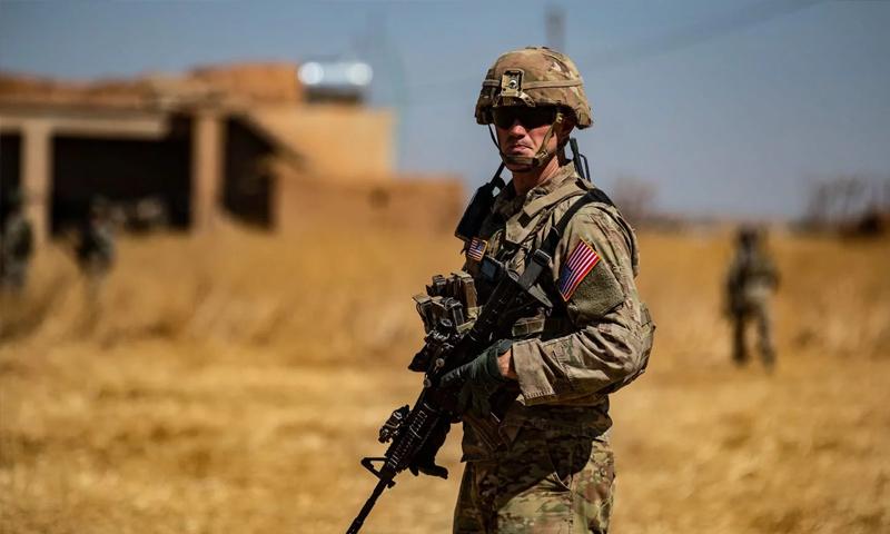 جندي أمريكي في مناطق شمال شرق سوريا - (afp دليل سليمان)