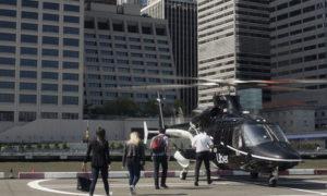طائرة هليكوبتر تابعة لشركة أوبر 3 تموز 2019 (الموقع الرسمي لشركة أوبر)