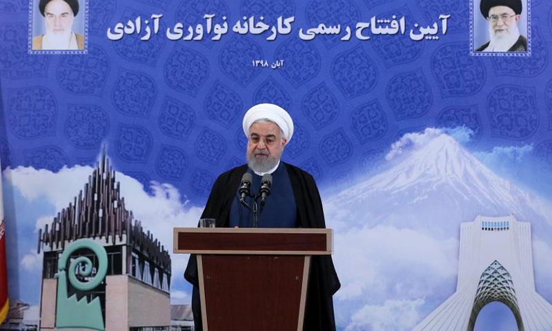 الرئيس الإيراني حسن روحاني (وكالة أنباء فارس)
