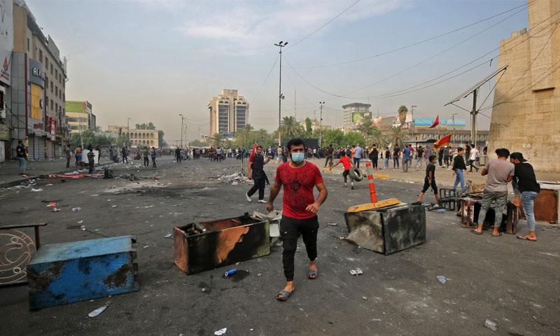 مظاهرات العراق - تشرين الثاني- (فرانس برس)