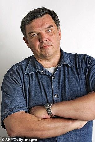 الصحفي الروسي إيفان سافرونوف (AP)