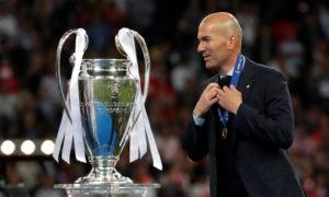 مدرب نادي ريال مدريد زين الدين زيدان (رويترز)