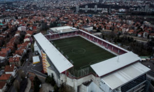 ملعب فوزدوفاتش في العاصمة الصربية بلغراد