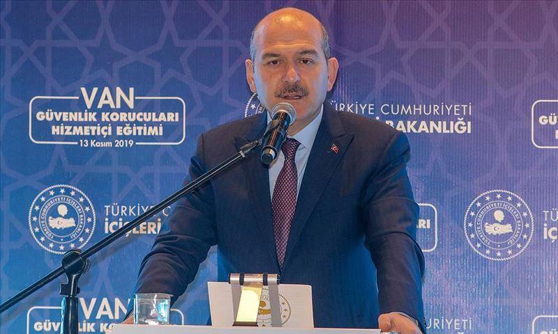 وزير الداخلية التركي، سليمان صويلو، (الأناضول)