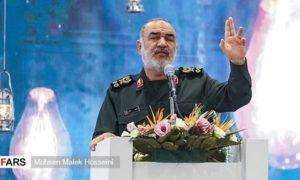 قائد الحرس الثوري الإيراني حسين سلامي، 25 من تشرين الثاني، وكالة (فارس)