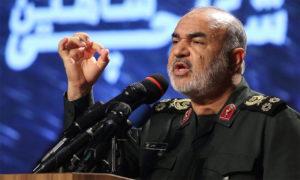 قائد الحرس الثوري الإيراني، حسين سلامي، وكالة (إرنا) الإيرانية.