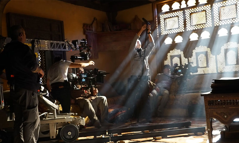 من كواليس تصوير مسلسل ممالك النار (MBC)