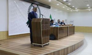 """علي عبد الرحمن كده رئيس مجلس الوزراء في """"حكومة الإنقاذ""""- 18 من تشرين الثاني 2019 (عنب بلدي)"""