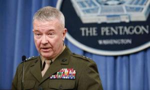 الجنرال الأمريكي كينيث مكينزي (AFP)