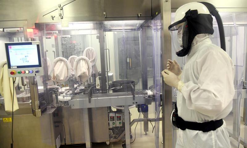 معمل للأدوية الكيماوية في سوريا (SNEWS)