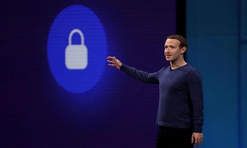 """مؤسس """"فيس بوك"""" مارك زوكربيرج، الصورة تعديل جاستين سوليفان (Getty Images)"""