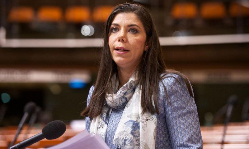 النائبة التركية بيلين جونديش باكر (موقعها الرسمي)