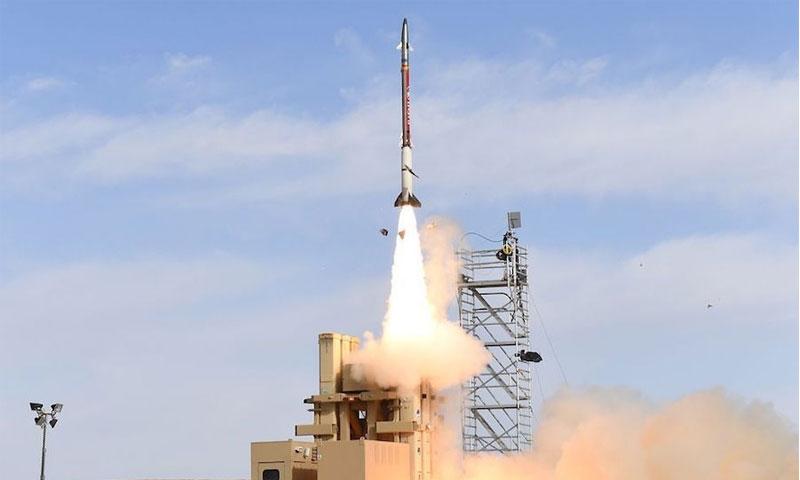 """اختبار صواريخ """"مقلاع داوود"""" - آذار 2019 (IDF)"""