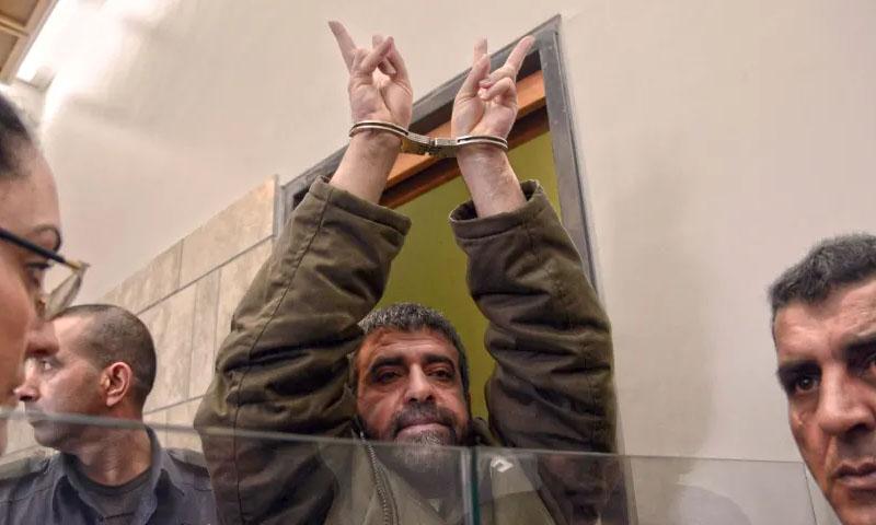 صدقي المقت أثناء محاكمته في محكمة الناصرة -2015- (هآرتس)