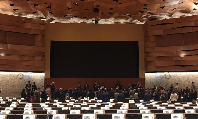 مؤتمر الأسلحة التقليدية في جنيف - 15 تشرين الثاني 2019 (Alev Erhan)