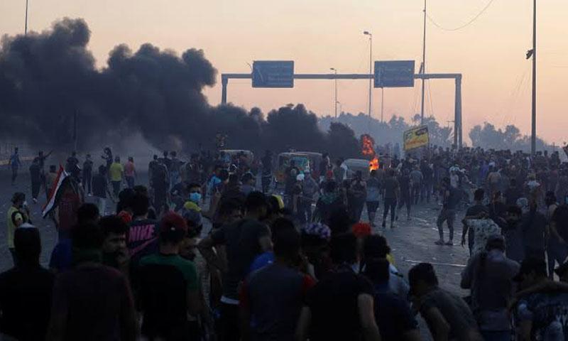 مظاهرات العراق - تشرين الأول- (فرانس 24)