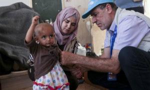 معاينة الأطفال في محافظة الحسكة - تشرين الأول 2019 (UNICEF)