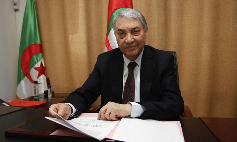 المرشح الرئاسي علي بن فليس