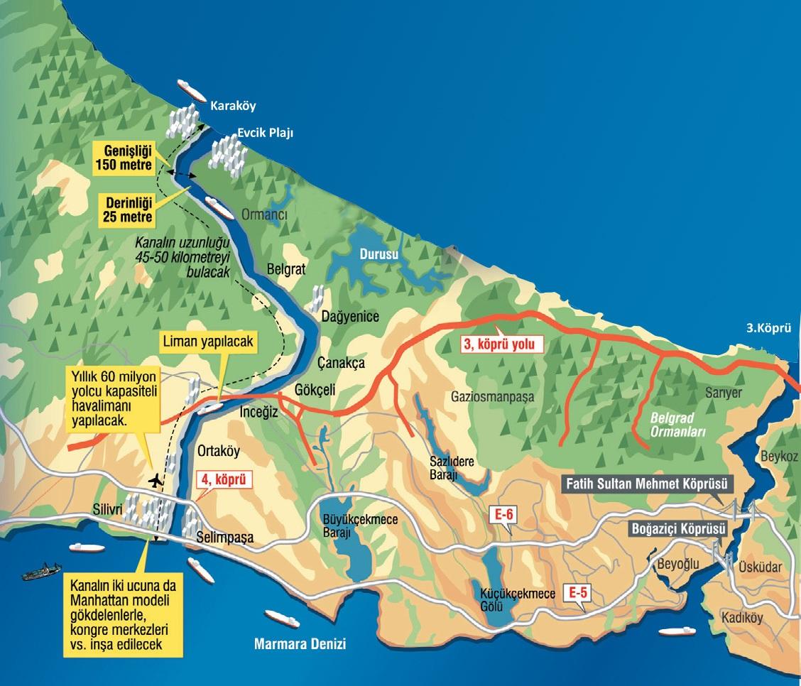 خريطة تظهر المخطط الأولي للمشروع (mynet)