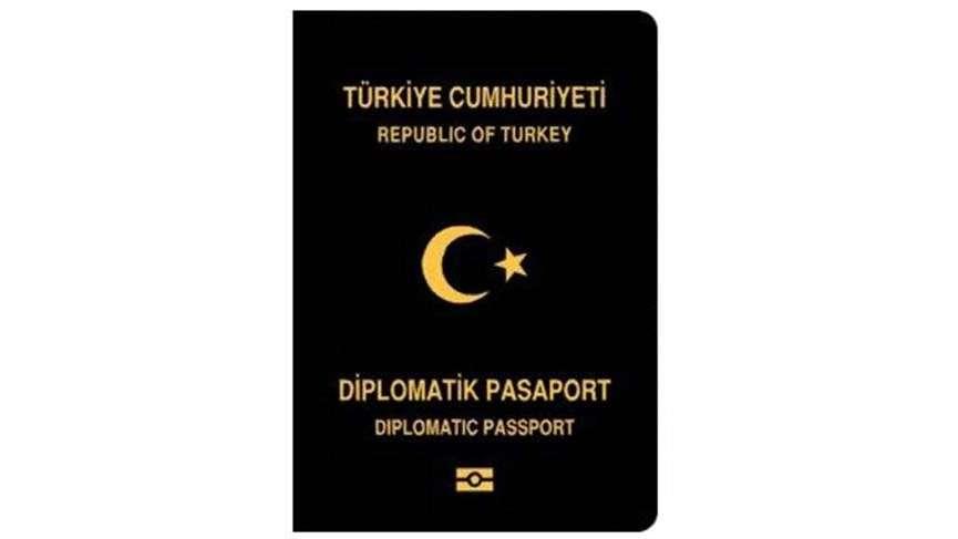 جواز السفر الدبلوماسي (Sözcü)