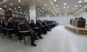 """""""مجلس شورى"""" في """"حكومة الانقاذ"""" يختار رئيسًا لمجلس الوزراء (عنب بلدي)"""