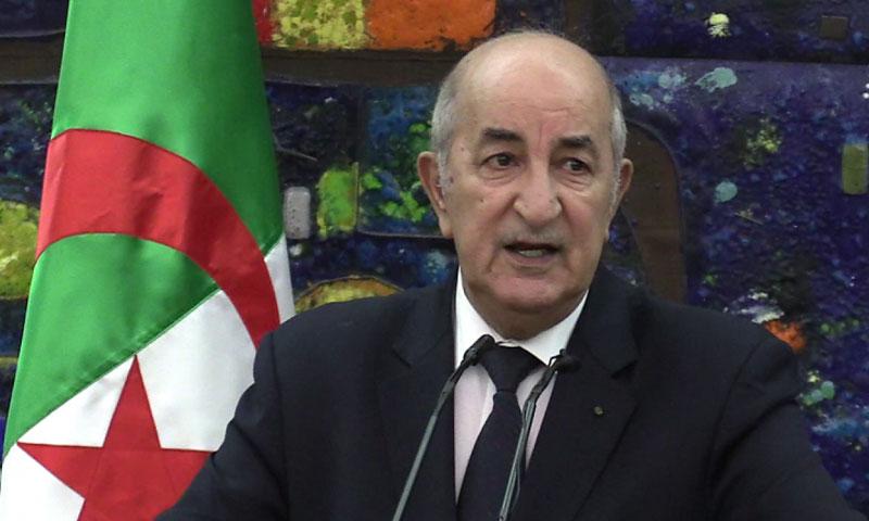 المرشح الرئاسي عبد المجيد تبون