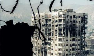 منازل متضررة في منطقة القابون بدمشق - 24 كانون الثاني 2019 (عدسة شاب دمشقي)