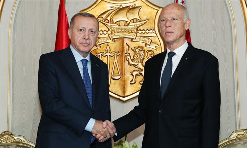 قيس سعيد - اردوغان