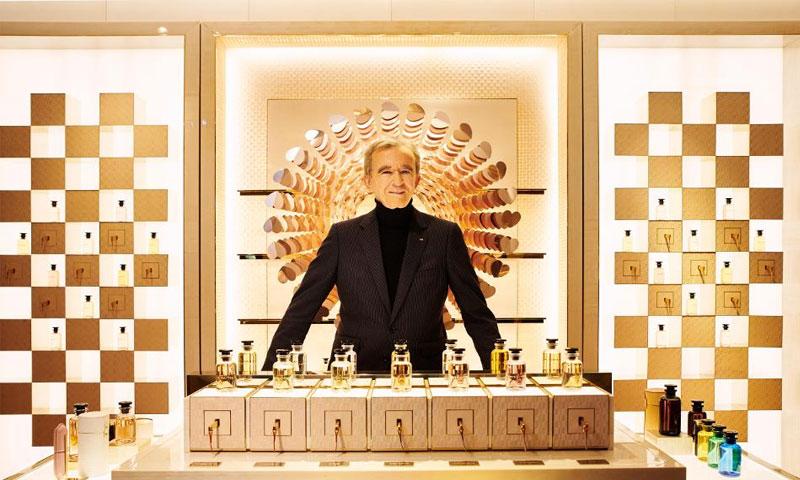 الملياردير الفرنسي برنارد آرنولت، 26 من تشرين الثاني (فوربس)