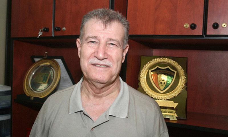 فاروق سرية المرشح لرئاسة اتحاد كرة القدم السوري (الإمارات اليوم)