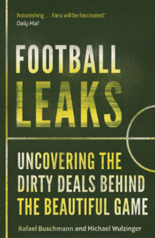 غلاف كتاب تسريبات كرة القدم
