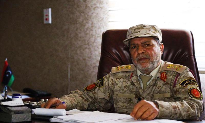 قائد المجلس العسكري في مدينة مصراتة الليبية ابراهيم بالرجب (المرصد)