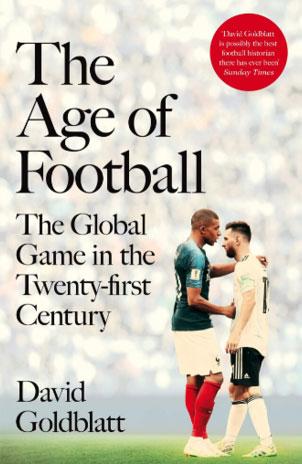 """غلاف كتاب """"عصر كرة القدم"""""""