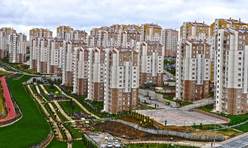 صورة تعبيرية عن مشاريع إسكانية في تركيا