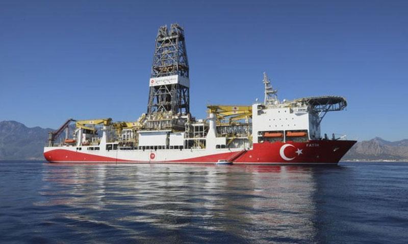 سفينة تركية للتنقيب عن الغاز (HABER TURK)