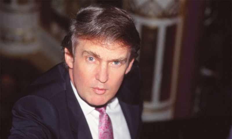 رجل الأعمال الأمريكي دونالد ترامب- 1989 (Getty)